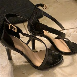 Strapped heels